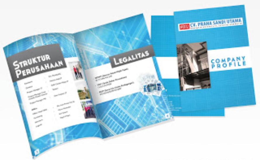 Mau membuat desain company profile booklet untuk perusahaan anda ...