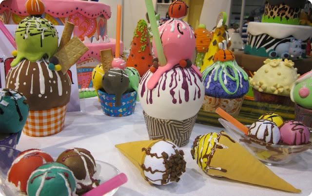 Cupcakes y helados de decoración en Creativa Valencia
