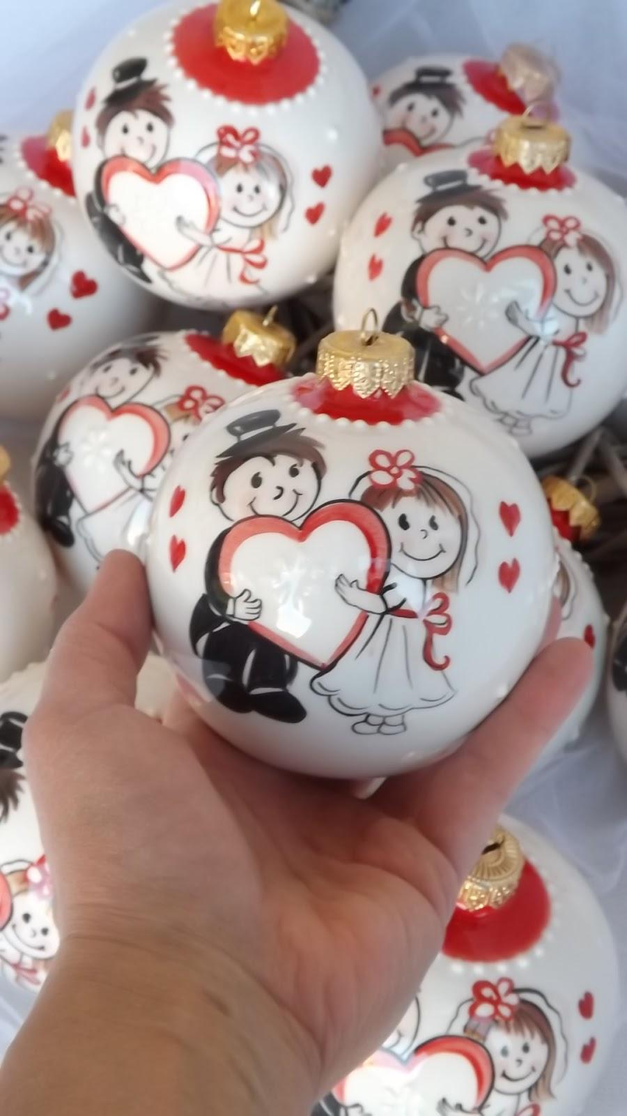 Connu ceramica come mestiere: Palline di Natale in ceramica come  GA69