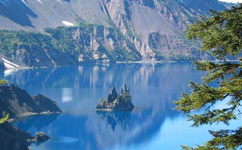Deepest Lakes In The World Crater Lake Caldera