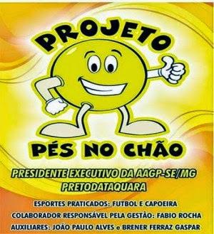 PROJETO SOCIAL PÉS NO CHÃO