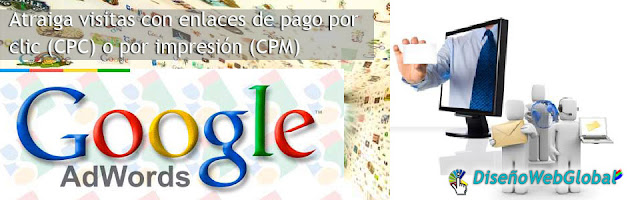 publicidad en google adwords Diseño Web Global
