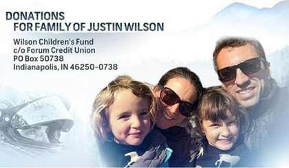 The INDYCAR community has embraced the Wilson Family during this tragic time following the death of 37-year-old Justin.