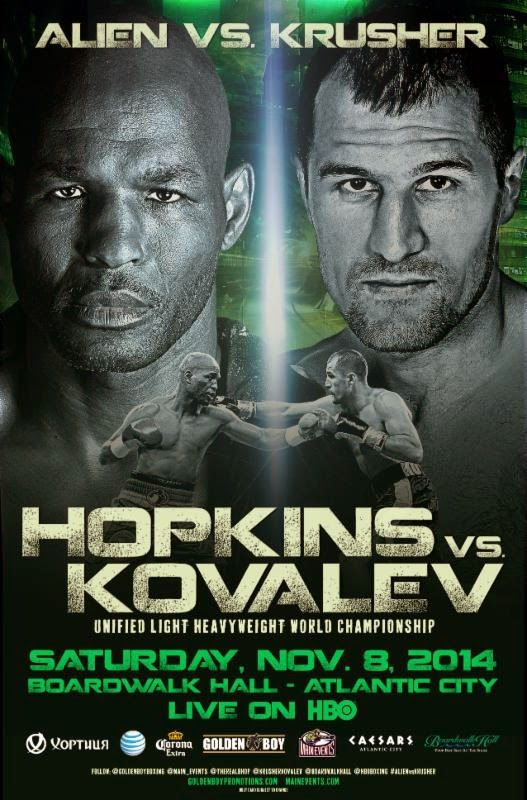 Bernard Hopkins vs. Sergey Kovalev