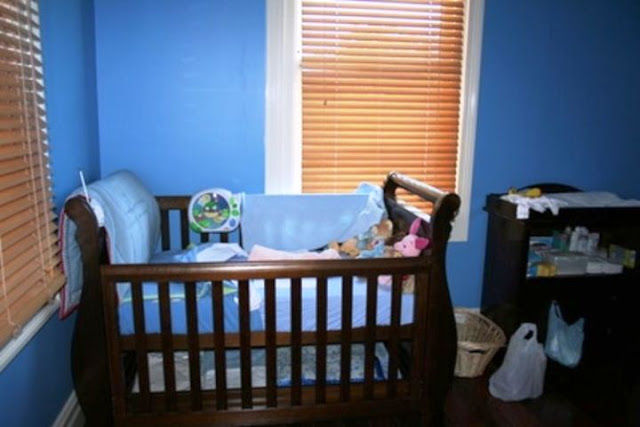 blue paint colors for baby boy nursery
