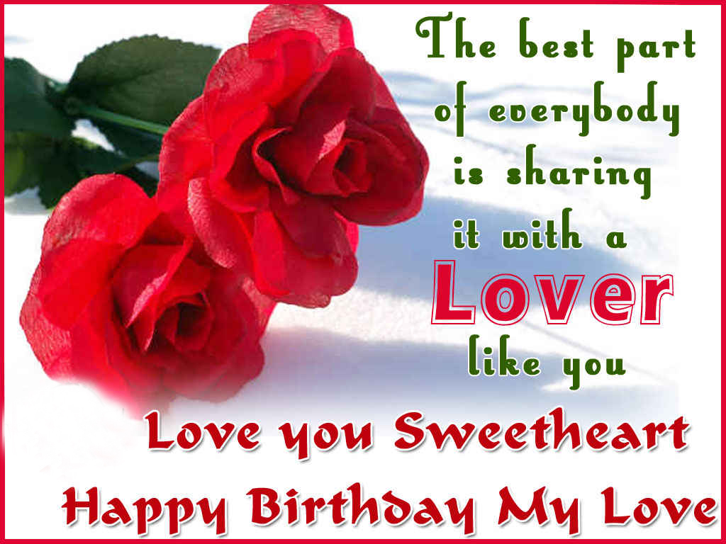 Love You Birthday Wallpaper : Sms with Wallpapers: Happy birthday wishes to wife 2015