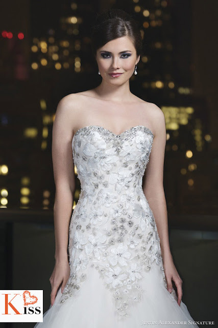 Justin Alexander 2014 Wedding Dress
