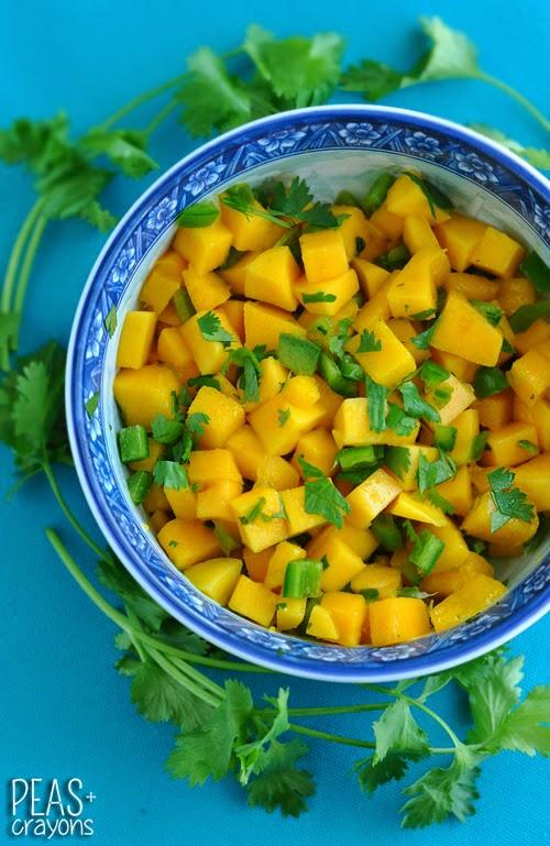 Fresh Mango Jalapeno Salsa