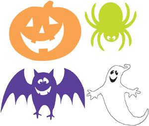 Deixo pra vocês figuras de Halloween para diversas artes .