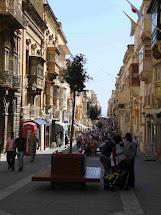 Main Street Valletta Malta