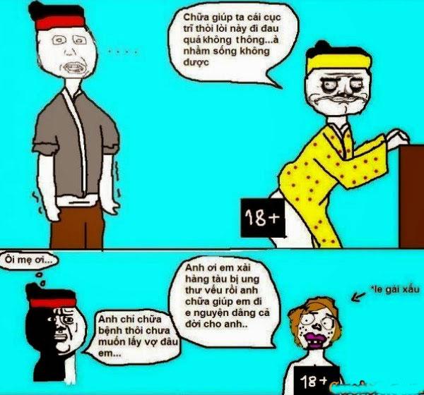 Truyện tranh hài sự tích chú cuội hằng nga 4
