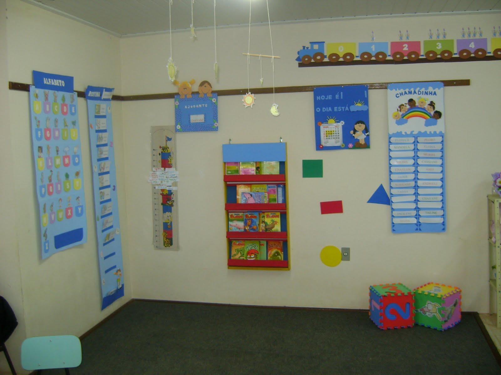 decoracao de sala aula educacao infantil : decoracao de sala aula educacao infantil: Ambiente Adequado e Acolhedor na Sala de Aula de Educação Infantil
