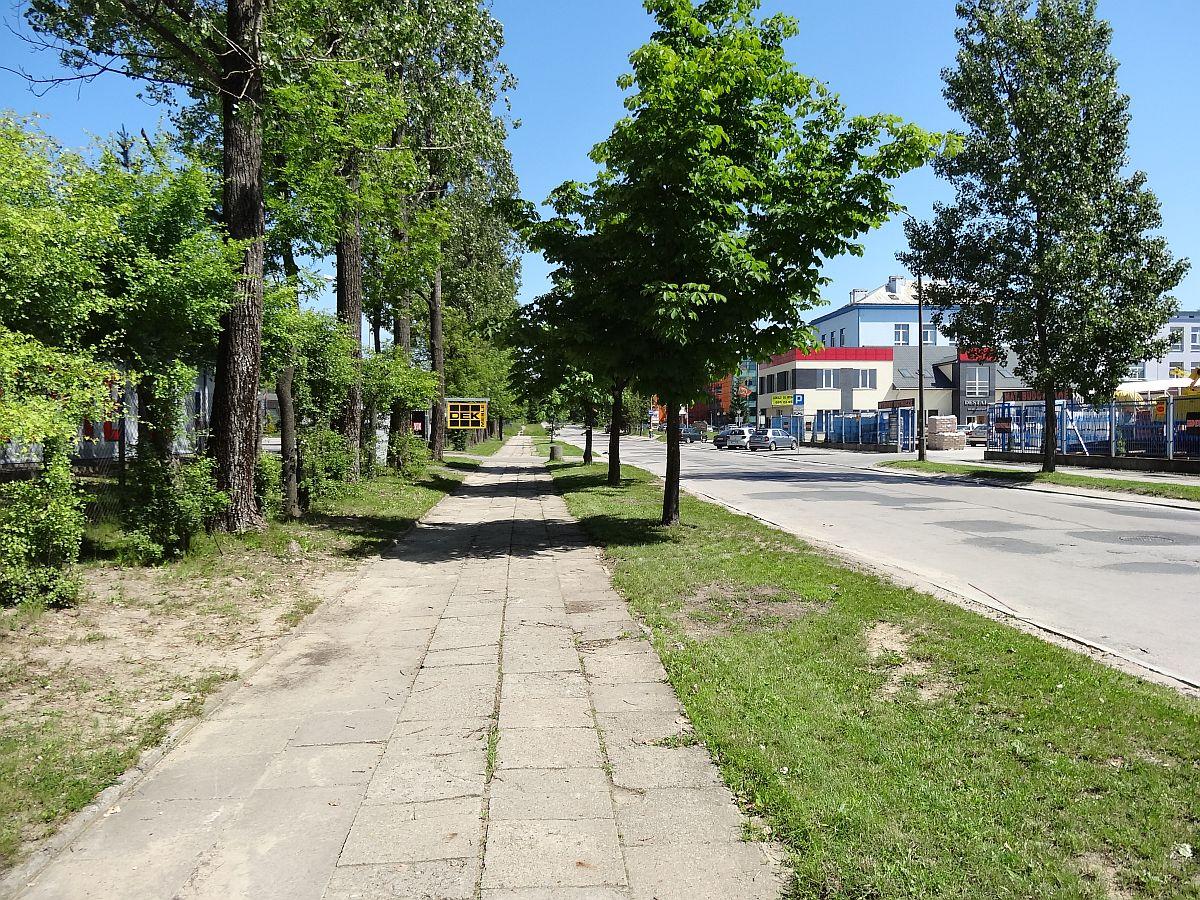 Ulica Olszewskiego w stylu déjà vu