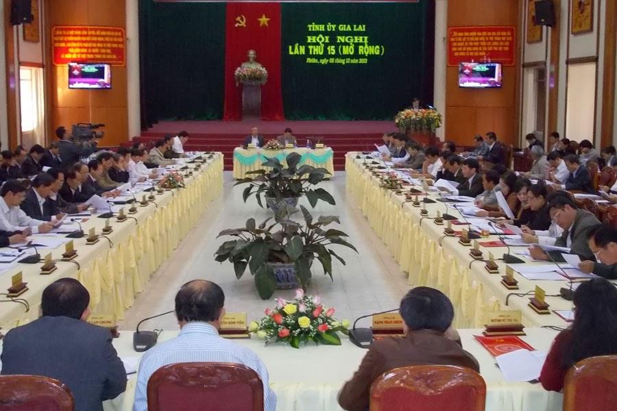 Hội nghị lần thứ 15 (khóa XIV) Đảng bộ tỉnh Gia Lai: Quyết định các nhiệm vụ chính trị trọng tâm của năm 2014