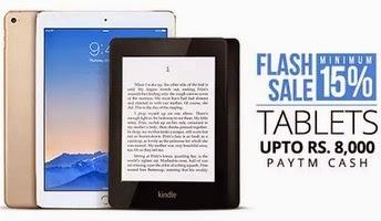 Tablets Additional upto Rs. 8,000 Cashback