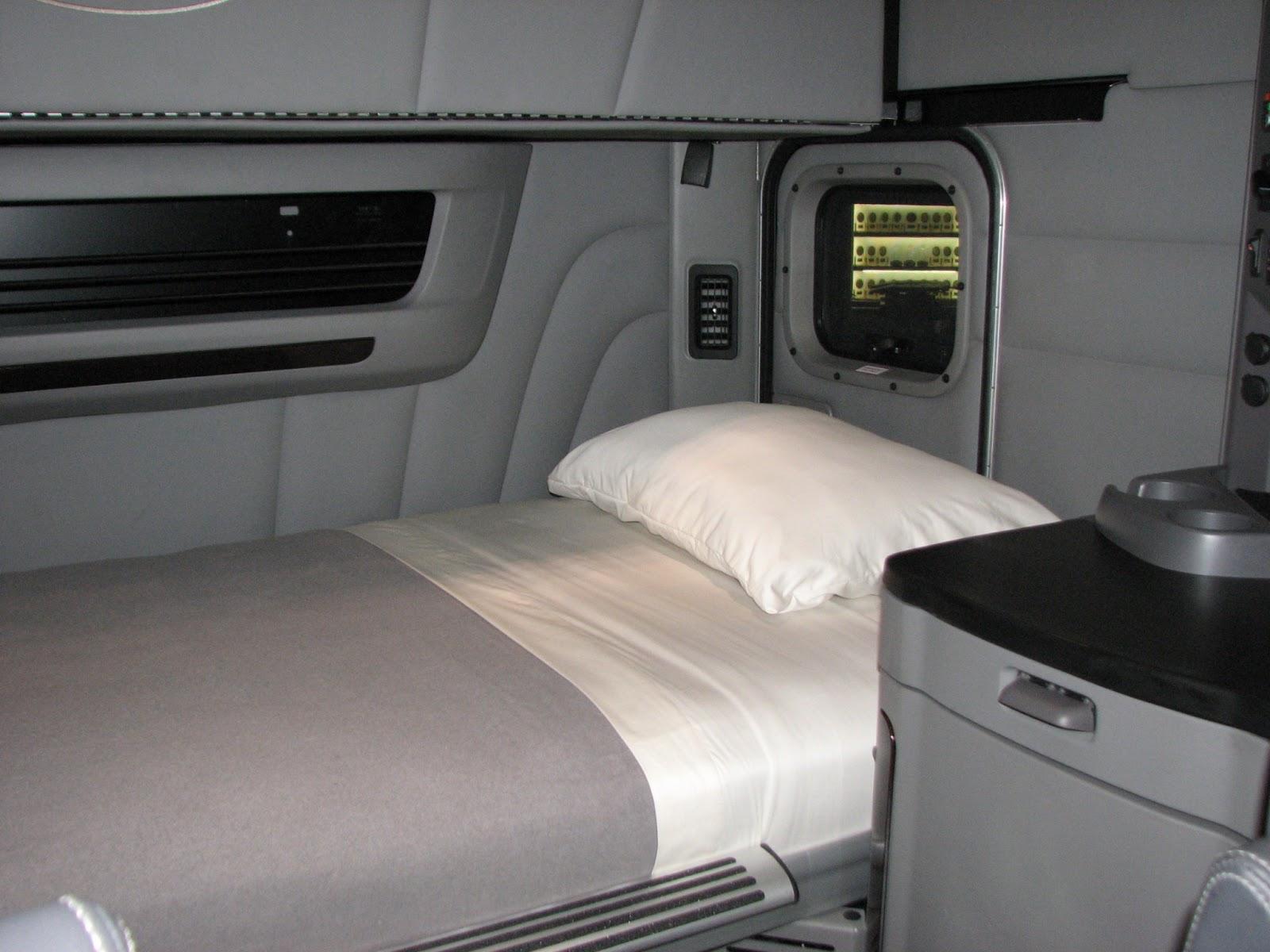 Inside The Sleeper Cab Of A Semi.html   Autos Weblog