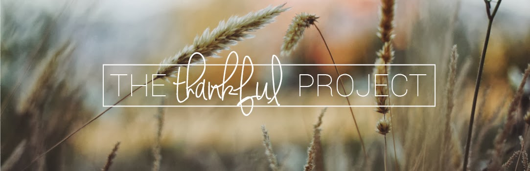 The Thankful Project: 28 days of blogging with intentional gratitude