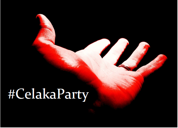 #CelakaParty