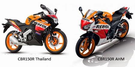 CBR lokal vs CBR Thailand