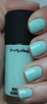 Test MAC Quite CUte Mischievous Mint