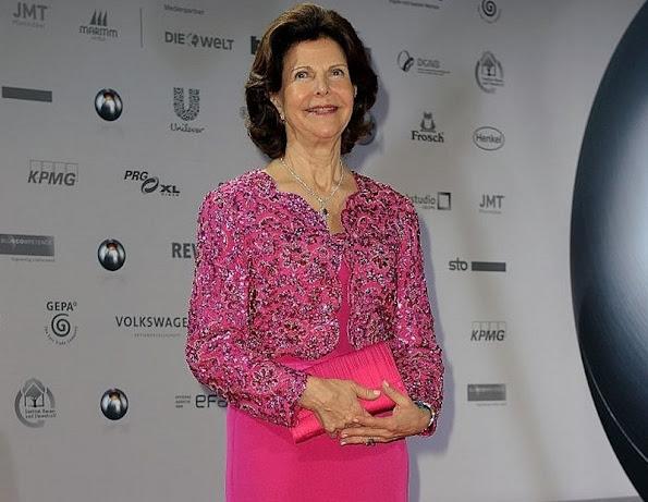 Queen Silvia of Sweden attends the German Sustainability Award 2015 (Deutscher Nachhaltigkeitspreis) at Maritim Hotel in Duesseldorf