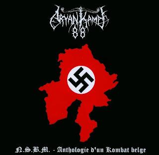 Aryan Kampf 88 - N.S.B.M. - Anthologie D'Un Kombat Belge (2009)
