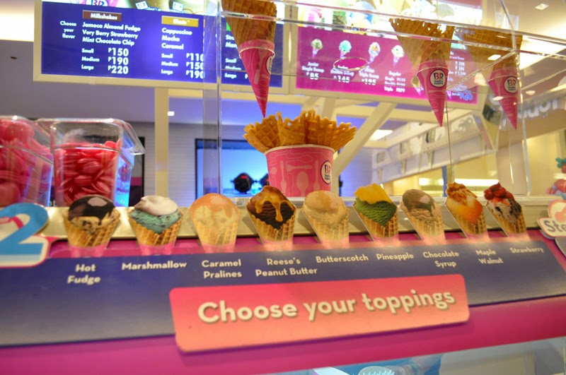 BaskinRobbins is now open in the Philippines at BGC Rochelle Rivera