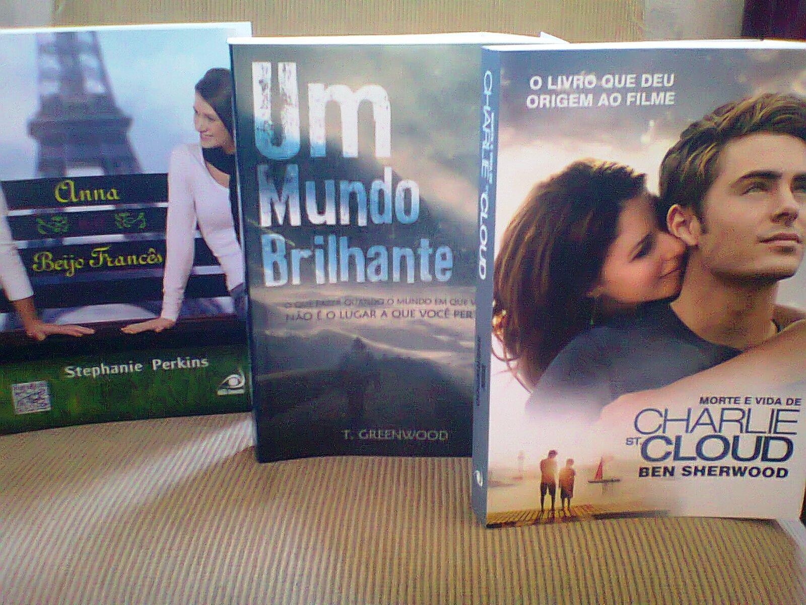 livros comprados em maio
