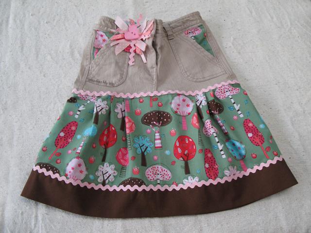 how to make a girl skirt