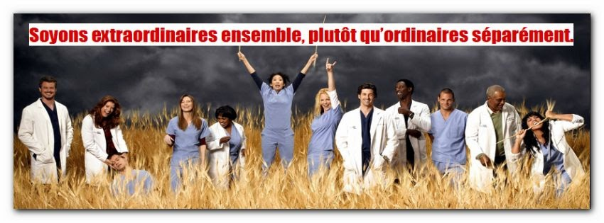 Jolie citation d'amitié grey anatomy
