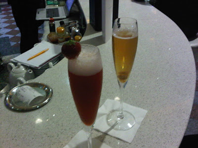 champagne cocktails at the trafford centre