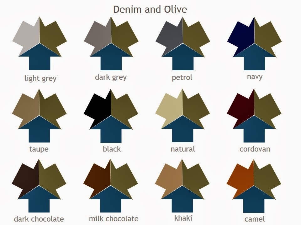 Just In Case You Wanted ALL Of The Neutral Color Combinations