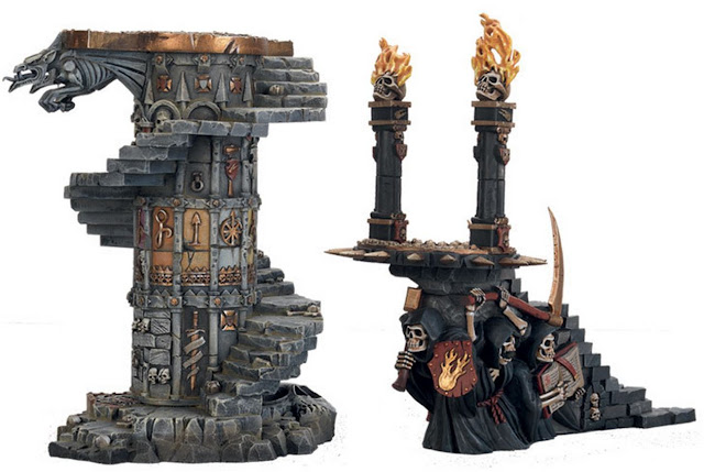 Storm of Magic Terrain and Scenery pics