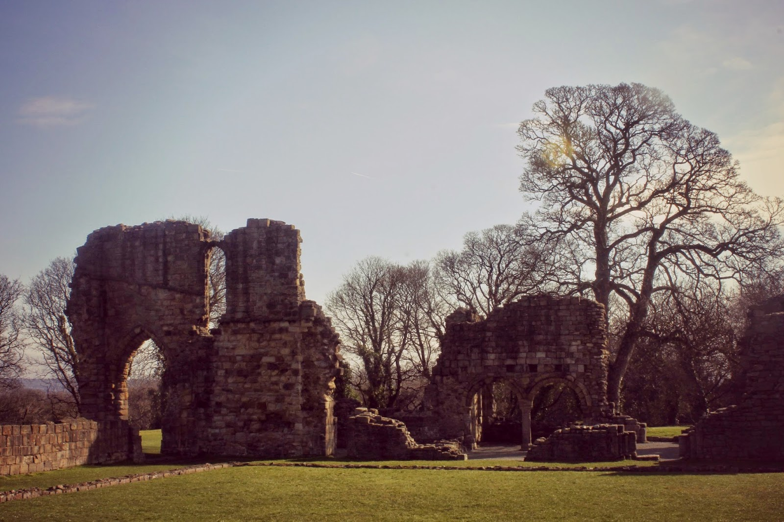 greenfield park abbey ruins
