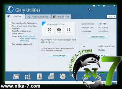 Glary Utilities Pro v3.9.1.138 Full Version
