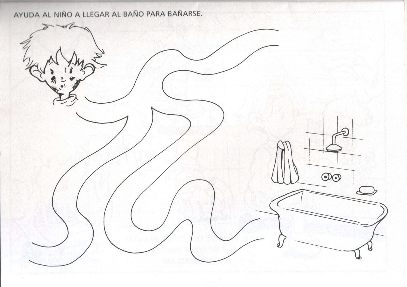 La Higiene Personal: Fichas para trabajar