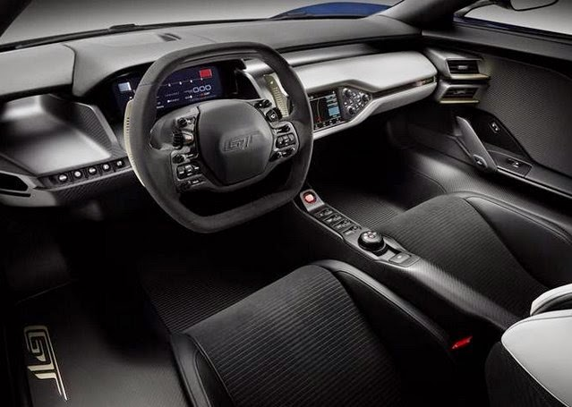2016 Ford GT40 Interior