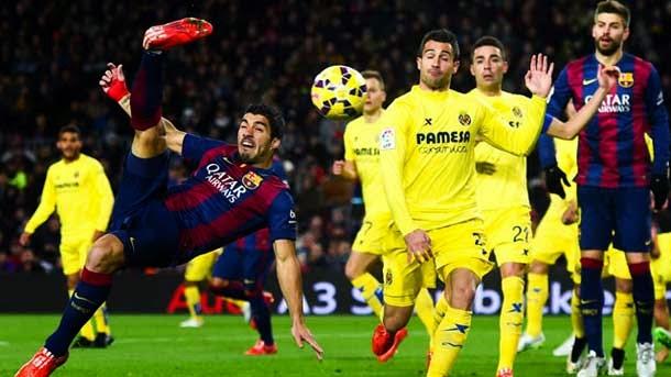 El Barça podría jugar sin Suárez ante el Villarreal en Copa del Rey