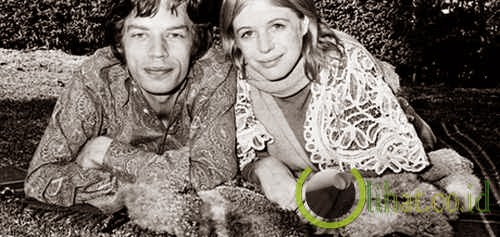 Mick Jagger dan Marianne Faithfull