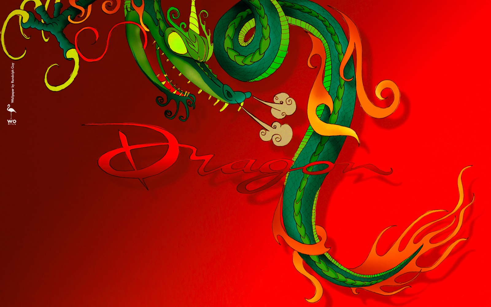 Red Chinese Dragon WallpaperRed Chinese Dragon Wallpaper