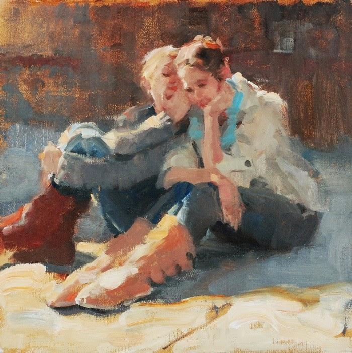 Масляная живопись. E. Melinda Morrison