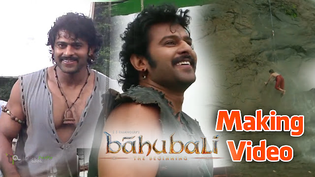 Prabhas as SHIVUDU Making Video | Baahubali | Rajamouli