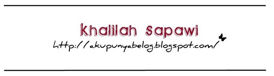 Khalilah Sapawi