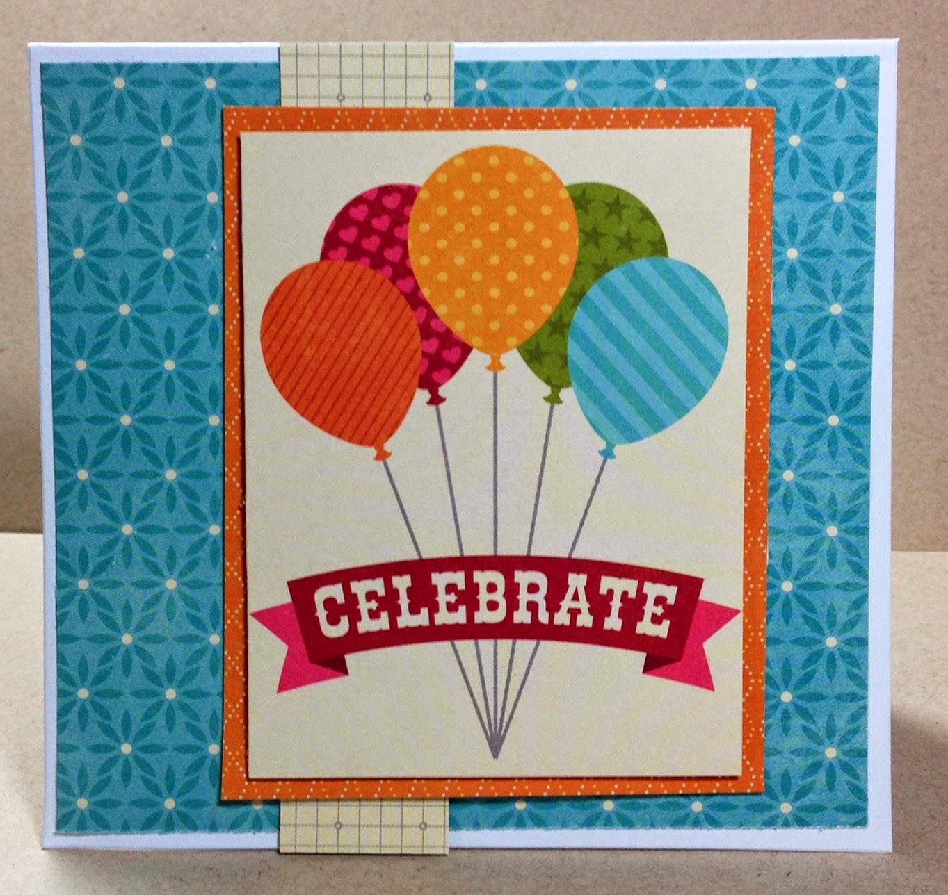 Hampton Art Blog Quick Easy mini Birthday cards by designer Joy Ott – Easy to Make Birthday Cards