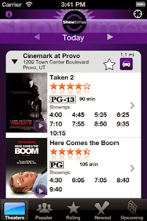 Showtimes - Local Movie Times & Tickets App for iPhone and ipod Touch