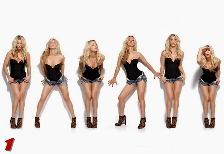 Kaley Cuoco posa para Maxim, Penny de 'The Big Bang Theory'