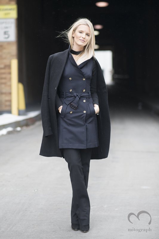 Kate Davidson Hudson at New York Fashion Week 2015-2016 Fall Winter NYFW