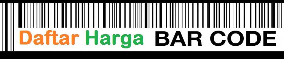 Daftar Harga Barcode