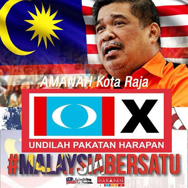 "PRESIDENT MAT SABU OF AMANAH PAKATAN CONTESTS IN  PARLIAMENTARY SEAT "" KOTA RAJA "" IN SELANGOR !"