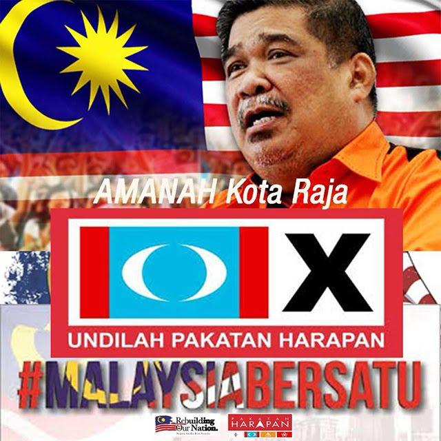 """PRESIDENT MAT SABU OF AMANAH PAKATAN CONTESTS IN  PARLIAMENTARY SEAT """" KOTA RAJA """" IN SELANGOR !"""